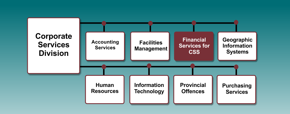 Financial services org chart