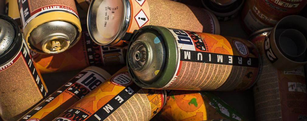Image of paint cans