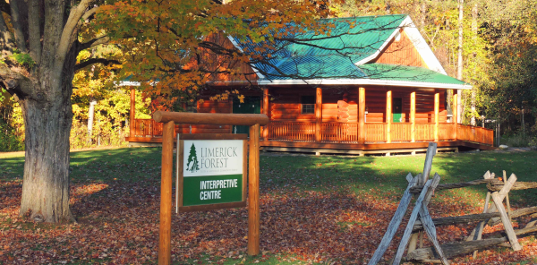 Image of the Limerick Forest Interpretive Centre
