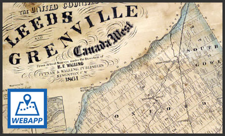 Historical Map of Leeds and Grenville
