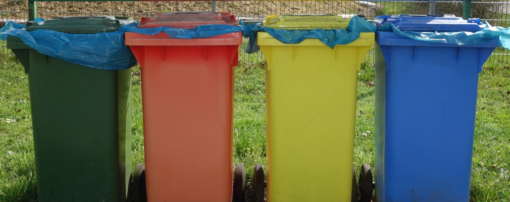 Image of waste containers