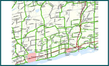 Map 4 South Grenville